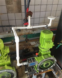 Application of ALBIN® Hose Pump at Reclaimed Water System in a Power Plant of China Datang Corporation